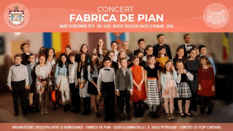 Concert Fabrica De Pian Deva Muzeul Civilizatiei Dacice si Romane
